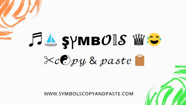 And emojis paste symbols copy Smileys Symbols